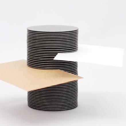 円板カードスタンド・タテ